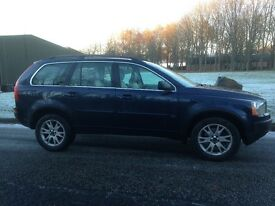 2003 03 Volvo XC90 2.4 D5 7 Seater 4x4 SUV Blue Automatic