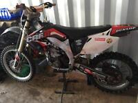 Honda crf 450 road registered