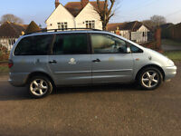 VOLKSWAGEN SHARAN TURBO SPORT AUTOMATIC, C/D PLAYER, BIG BOOT SPACE, LONG MOT.