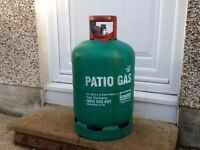 PATIO CALOR GAS, 13KG Bottle only for BBQ's and Heaters £12.00 (saves you £30 deposit)