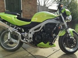 Triumph speed triple 955i.Lovely condition