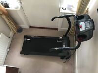 Treadmill WITH HIFI Speakers - MP3 Connection- Drink Holders- Hand Controls- Heart Rate/BMI Sensors