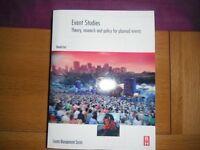 Events Studies Book