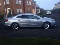 2011 VW Passat CC, 2.0 GT TDI CR BlueMot. Full leather interior, heated front seats, sat nav.