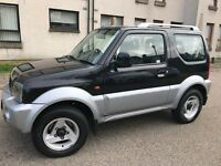 "ONLY ""44000 MILES""05 SUZUKI JIMNY, LONG MOT, FULL SERVICE HISTORY, LEATHER SEATS"