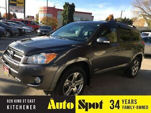 2010 Toyota RAV4 Sport/METICULOUS SERVICE HISTORY/PRICED FOR A Q Kitchener / Waterloo Kitchener Area image 1