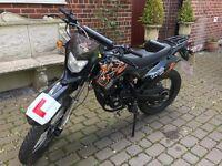 WK 125cc trail bike