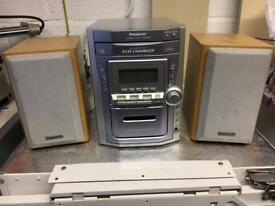 Panasonic 5 Disc CD player
