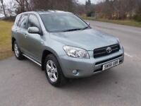 2006 56 TOYOTA RAV 2.2 D4D XT4 4X4 5 DOOR CALL 07791629657
