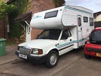 Motorhome,Campervan,Motor Caravan Tata Loadbeta 2.0Disel,4bed