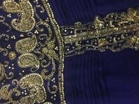 Urgent, Must Go, Royal blue and silver Party dress