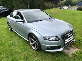 Jan 2010 Audi A4 S LINE TDI Half leather/Suede interior *Drive away from £50 a week