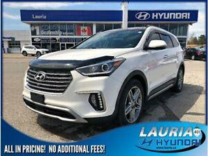 2017 Hyundai Santa Fe XL V6 AWD Ultimate 6-Passenger - Totally l