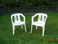 Pair of Matching Patio Chairs. Can Deliver.