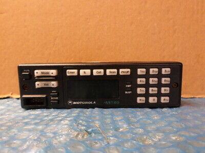 Motorola Astro Spectra W7 Hln6432d Radio Control Head Hln6432