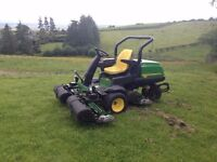 John Deere 2500E Diesel Driven 3 gang ride on lawn/golf mower - Absolute Bargain! - Be Quick!