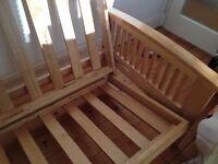 Free Futon Company solid wood sofa bed