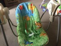 Motorised baby swing (Fisher Price)