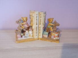 Kids Book Ends Ceramic Heavy