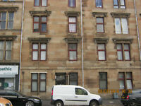 Calder Street, Govanhill- One bedroom, second floor, part-furnished- Available Now