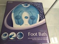Marks &Spancer foot spa ,pedicure , used twice