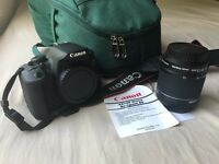 EOS 700D Reflex canon camera - New (It has just used for a couple of times)