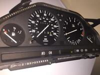 Bmw e30 clocks speedo fuel / temp gauge