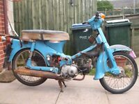 WANTED HONDA C50 / TS50 / DT50 WINTER PROJECT
