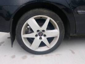 Saab 17inch alloys and tyres 5x110