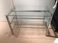 Glass TV unit £30 ono.