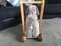 John Lewis Archie dog walker
