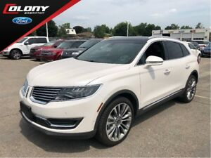 2018 Lincoln MKX | DEMO | 0% O.A.C. | Perforated Leather | Navi