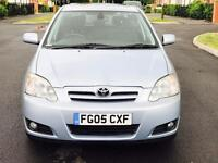 TOYOTA COROLLA T SPIRIT VVTI 5 DOORS WITH LOW MILEAGE & VERY CLEAN CONDITION