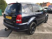Fantastic Value 2009 59 Ssangyong Rexton 2.7 TD SPR t-Tronic 4x4 SUV Auto 72211 Miles FSH