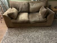 Free two 2 seater sofa. Good condition . Very comfy.