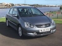 HONDA CIVIC 2.0 TYPE S/I-VTEC/WILL COME WITH A FULL MOT/SERVICE AND VALET