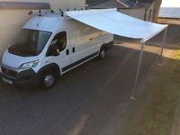 Broadview 4 metre Professional van awning, like Fiamma & Omnistor