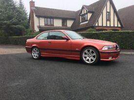 BMW E36 318 Coupe drift car....2.5 engine swap included.