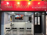 Business for sale: Indian takeaway