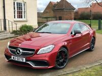 Mercedes CLS 63 S 5.5 BI-Turbo 2015 Red Saloon AMG Sports Petrol Benz CLS63