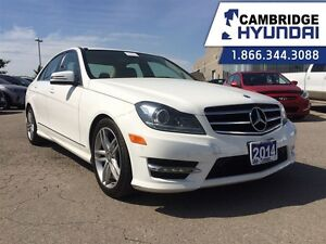 2014 Mercedes-Benz C-Class C300 4MATIC 1 OWNER LEATHER SUNROOF