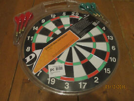 dunlop mini dartboard