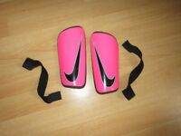 Pink Girl Shin guards - Size M - Good Condition