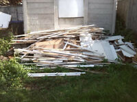 Free Scrap Timber Suitable For Guy Fawkes Or Other Bonfires