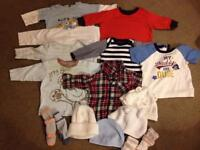 3-6 months baby boy's clothes