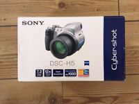 Sony DSC-H5 7.2MP Digital Camera 12x Image Stabilized Zoom