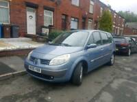 **2005 RENAULT G-SCENIC 7 SEATER 1.9 DCI LONG MOT LOW MILEAGE TOP RUNNER**