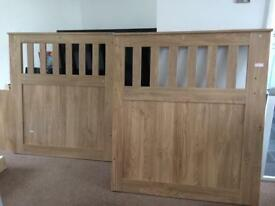 Headboard and footboard Merlin study bunk