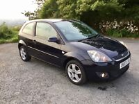 FORD FIESTA ZETEC CLIMATE 1.25 2007 IDEAL 1ST CAR OR RELIABLE RUN ABOUT 12 MONTHS M.O.T