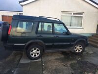 Land Rover Discovery 4x4 03 plate Auto
